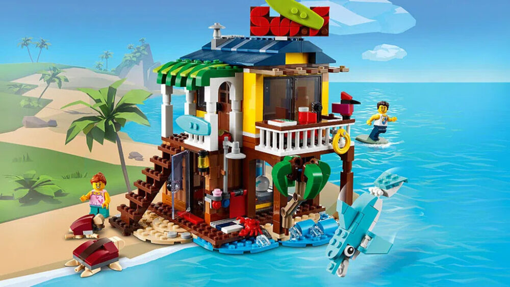 LEGO Contest DO YOU WANT TO GO TO THE SEASIDE?