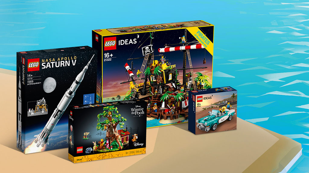 LEGO Contest DO YOU WANT TO GO TO THE SEASIDE? Preise für Platz 1
