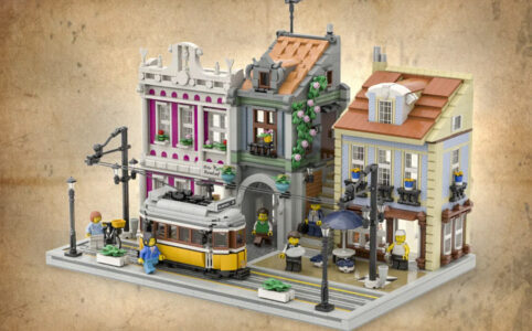LEGO Ideas The Lisbon Tram