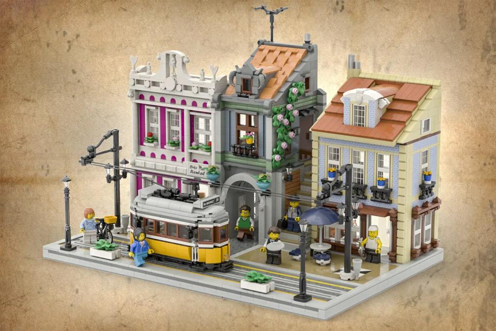 LEGO Ideas The Lisbon Tram