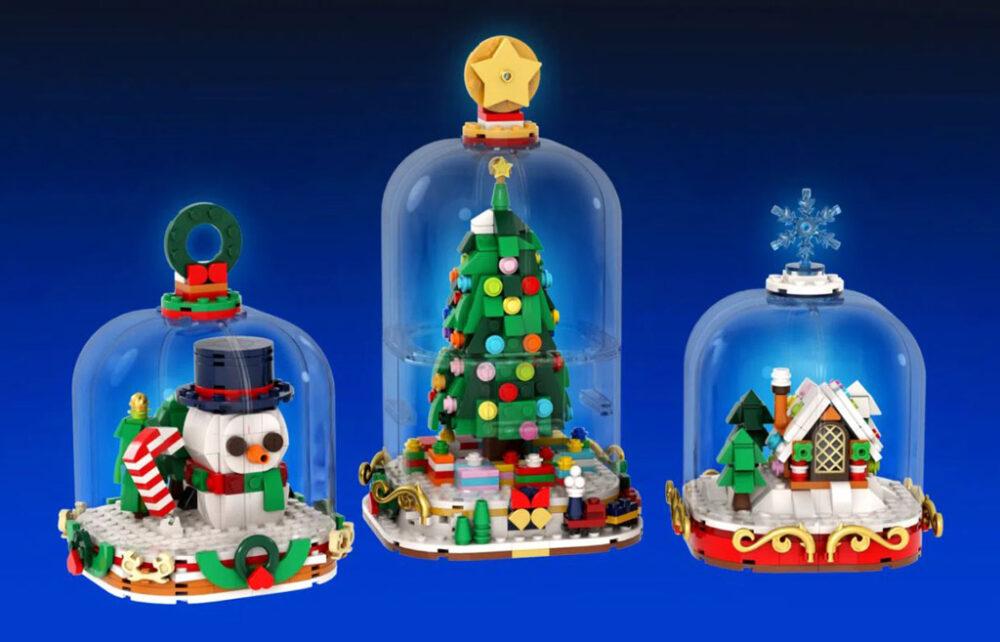 LEGO Ideas Winter Snow Globes von legotruman
