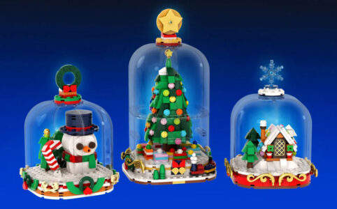 LEGO Ideas Winter Snow Globes von legotruman