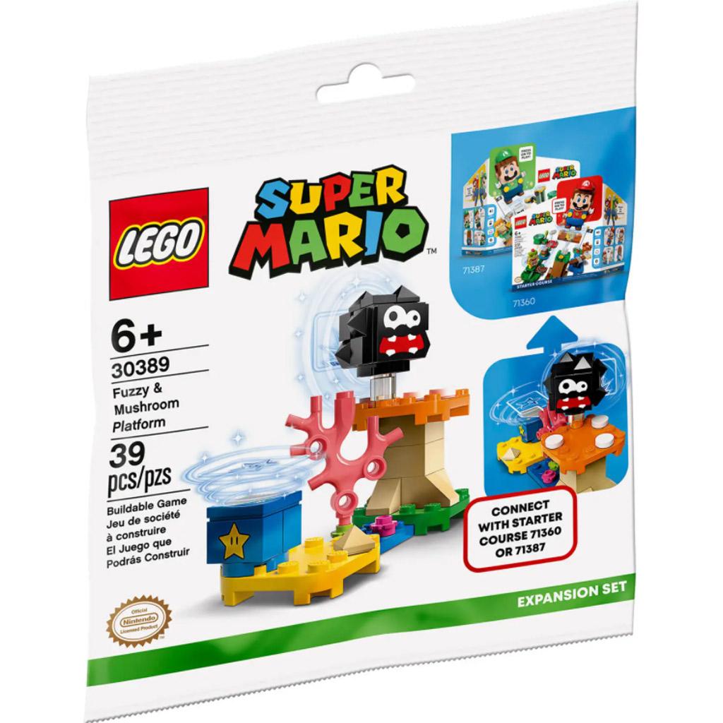 LEGO Super Mario 30389 Fuzzy & Mushroom Platform