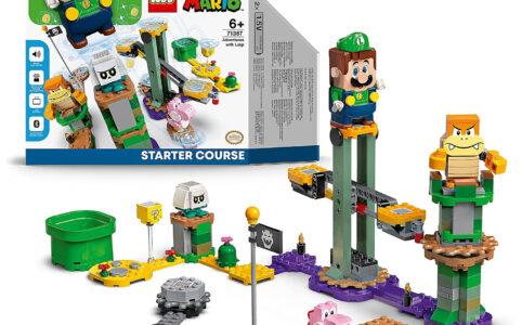 Mit LEGO Super Mario 71387 Abenteuer mit Luigi