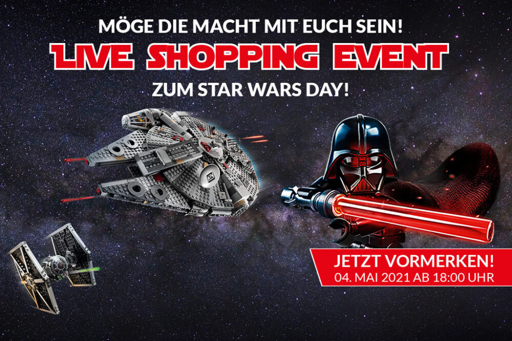 LEGO Live Shopping Event bei Alternate am Star Wars Tag