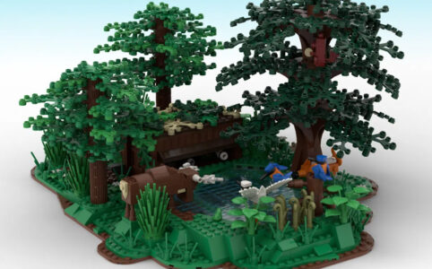 LEGO Ideas Nature Photography Cabin