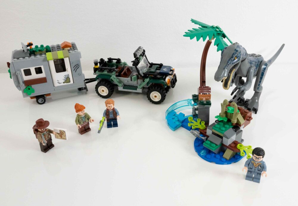 LEGO 75935 Jurassic World Baryonyx Kräftemessen