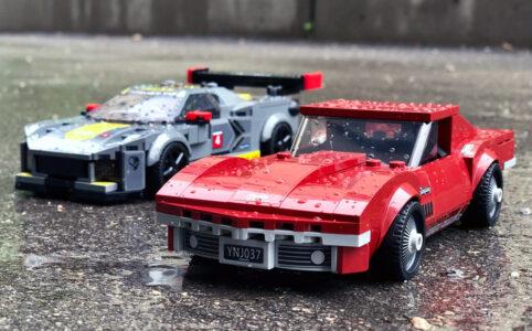 LEGO Speed Champions 76903 Chevrolet Corvette C8 R und 1968 Corvette