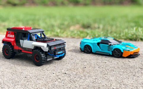 LEGO 76905 Speed Champions Ford GT Heritage Edition und Bronco R