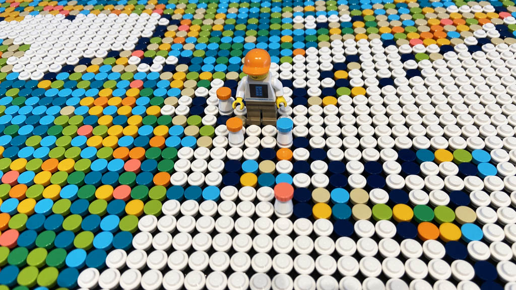 LEGO Art 31203 World Map Wo geht die Reise hin