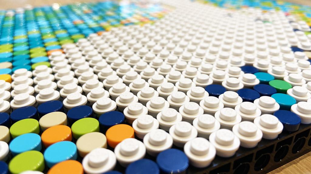 LEGO Art 31203 World Map Tiles und Plates