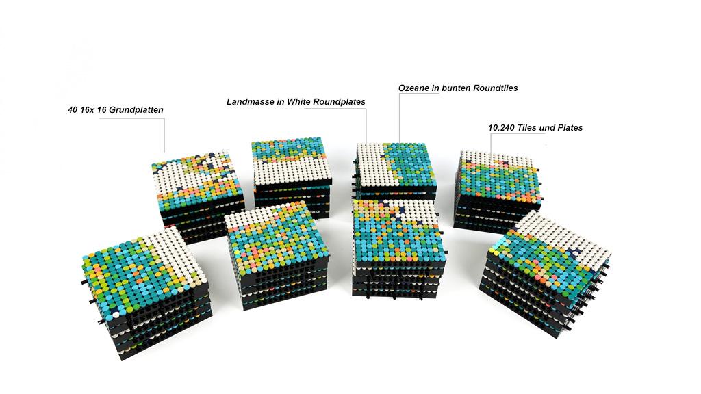 LEGO Art 31203 World Map Infos