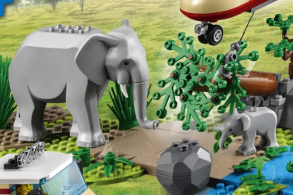 LEGO City 60302 Wildlife Tierrettungsaktion
