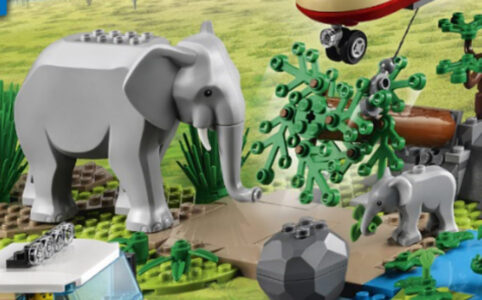 LEGO City 60302 Wildlife Tierrettungsaktion