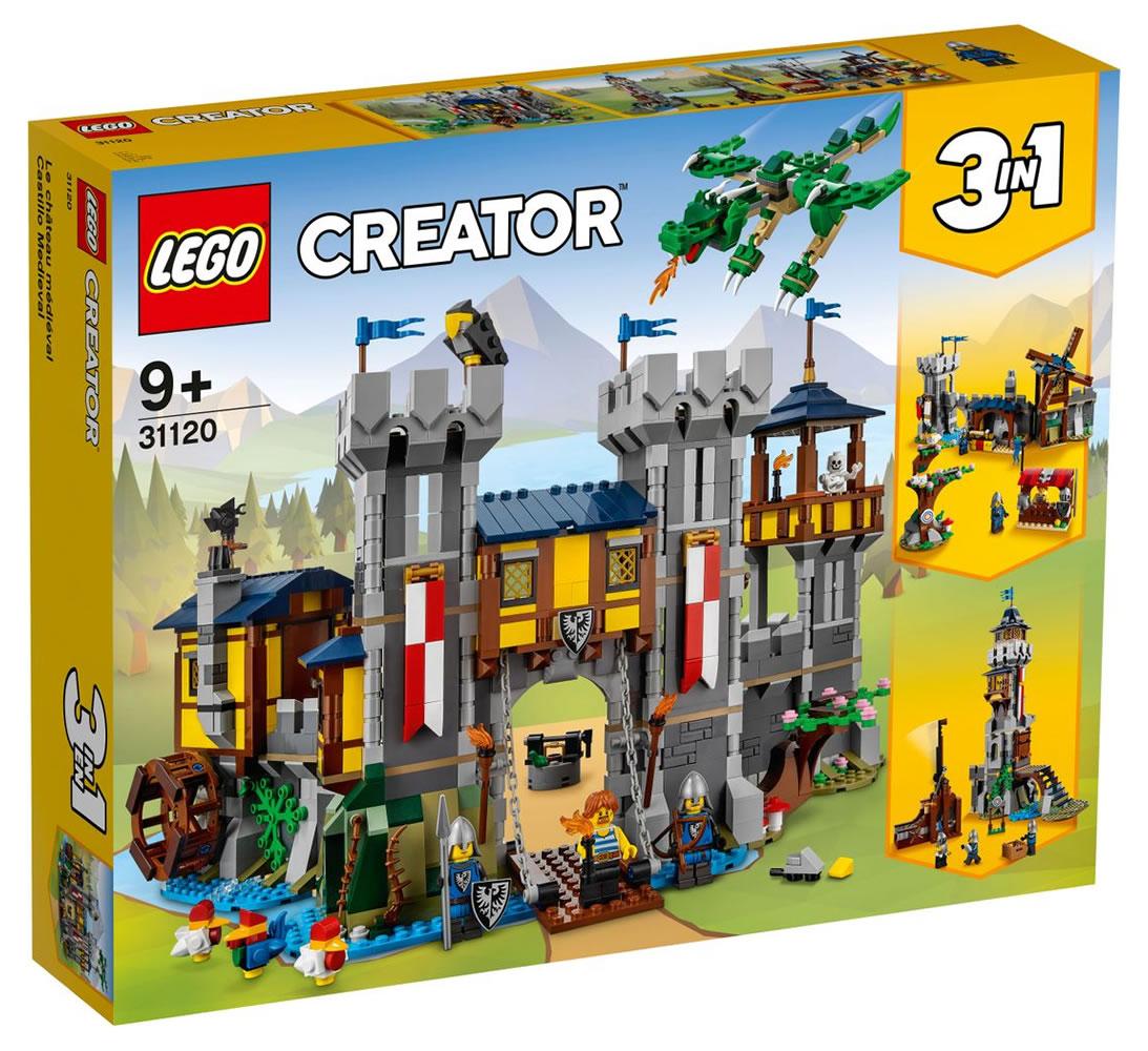 LEGO Creator 31120 Mittelalterlicher Schloss