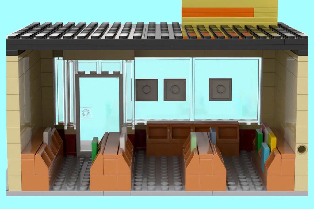 LEGO Plattenladen von Innen
