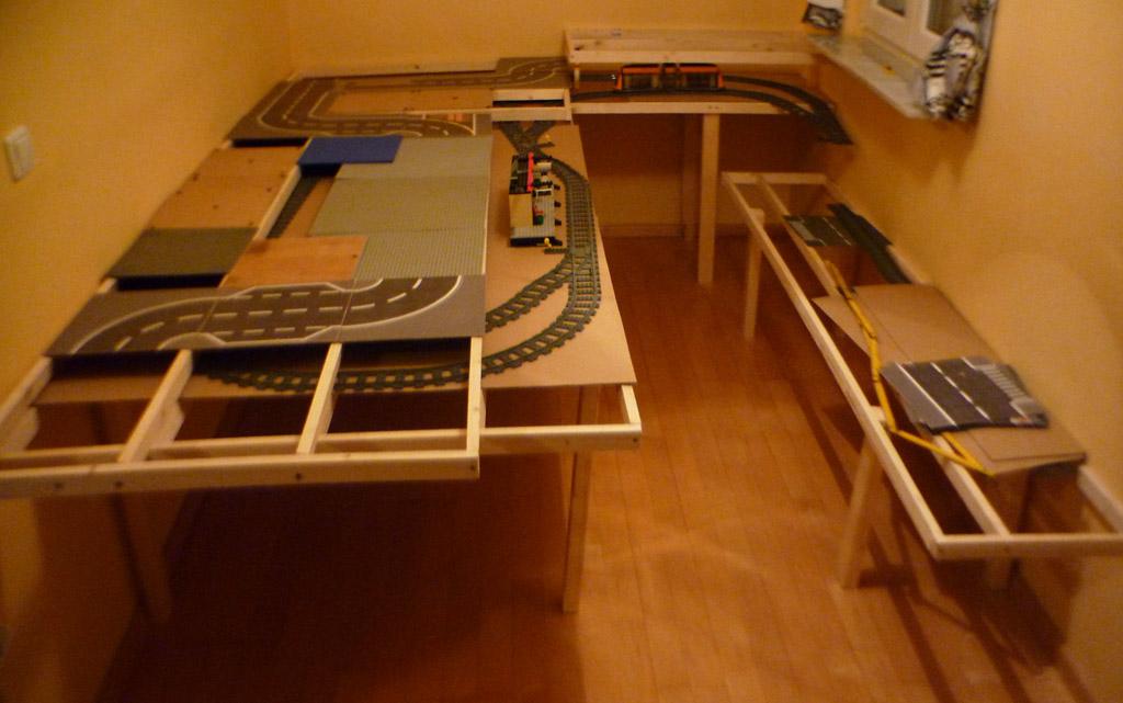 Brickhausen von Tim und Kurt. DIe Unterkonstruktion
