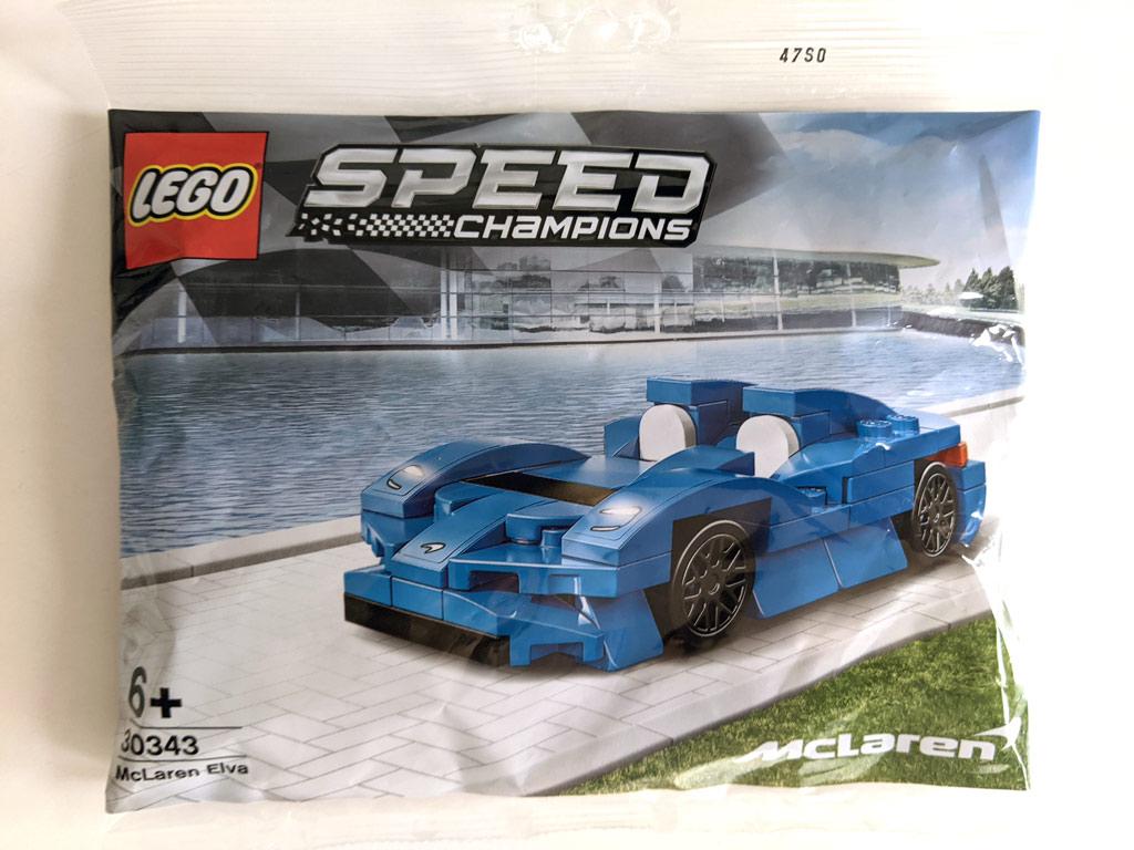 LEGO Speed Champions 30343 McLaren Elva Polybag