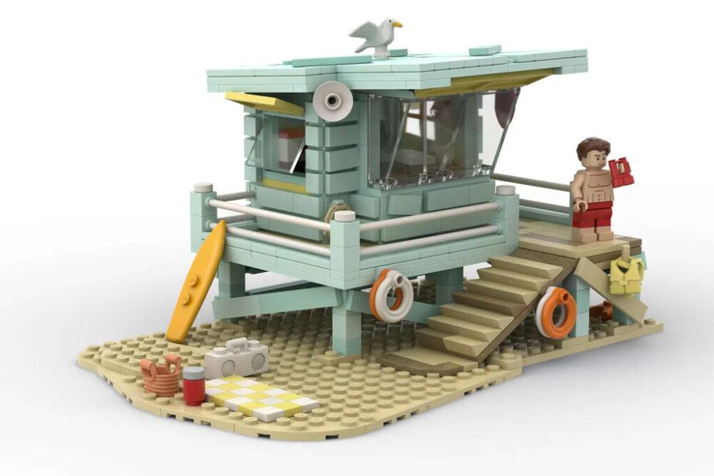 LEGO Ideas Rettungsschwimmer-Hütte
