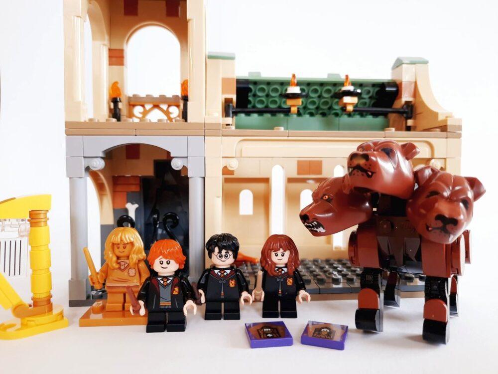 Lego Harry Potter 76387 Hogwarts Begegnung Mit Fluffy Im Review Zusammengebaut