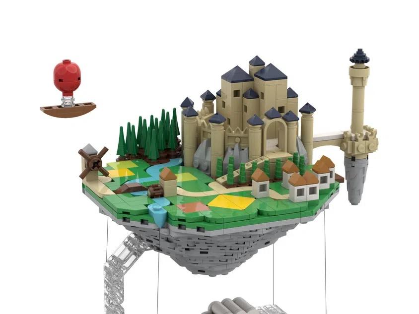LEGO Ideas Floating Island