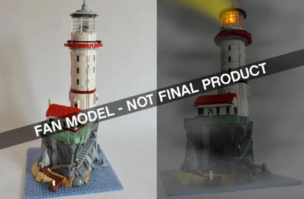 LEGO Ideas: Motorisierter Leuchtturm