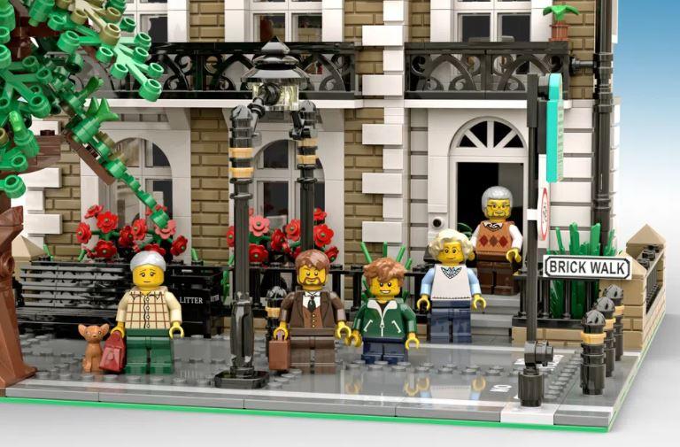 LEGO Ideas Brick Walk Die Bewohner