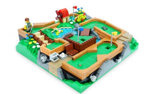 LEGO Ideas Funktionierende Minigolfanlage - voll bespielbar