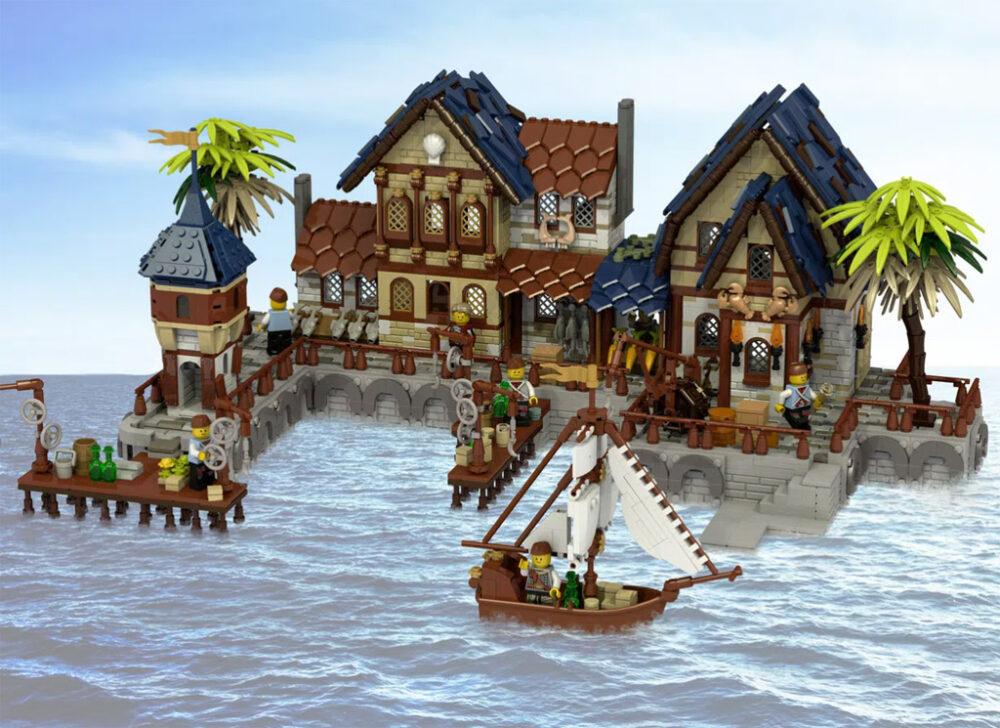 LEGO Ideas: Mittelalterlicher Hafen
