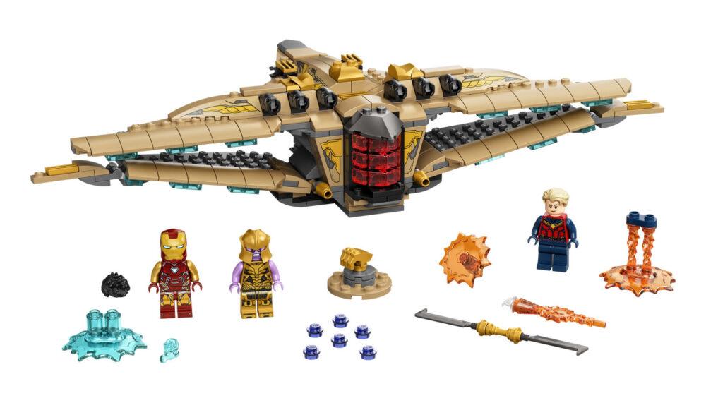 LEGO Marvel 76237 Sanctuary II Endgame Battle 76238