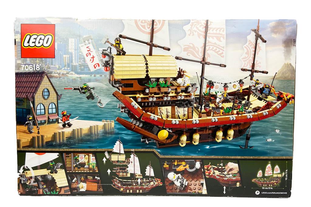 LEGO Ninjago 70618 Destiny´s Bounty die Box