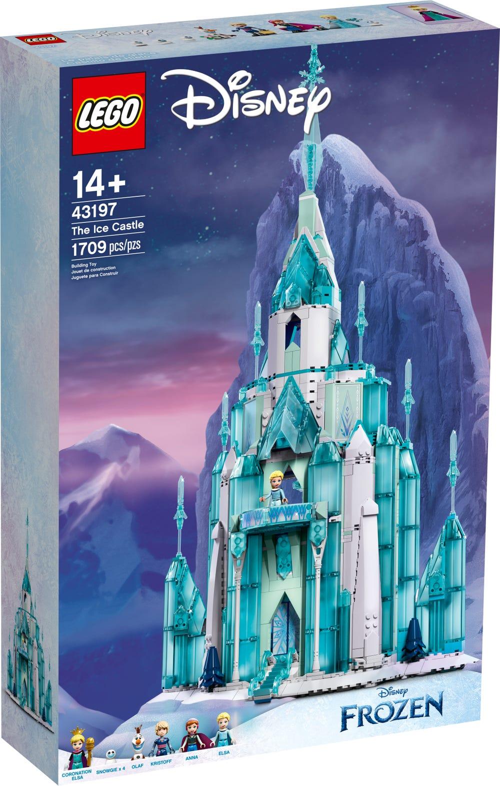 LEGO Disney 43197 Der Eispalast