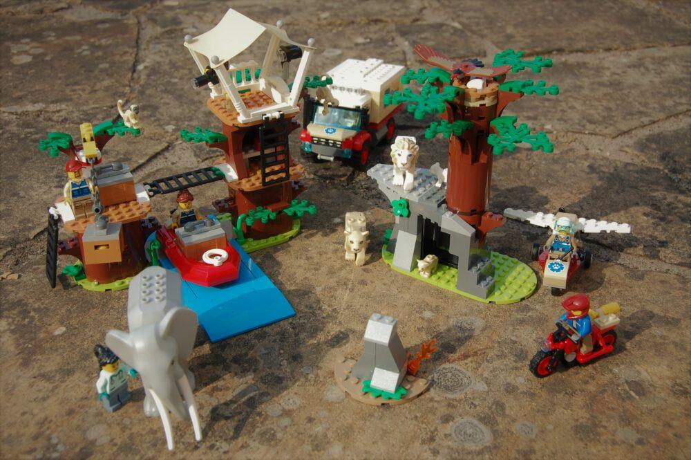 LEGO City 60307 Tierrettungscamp
