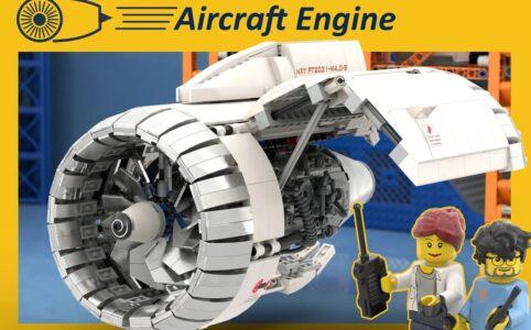 LEGO Ideas: Aicraft Engine Workshop