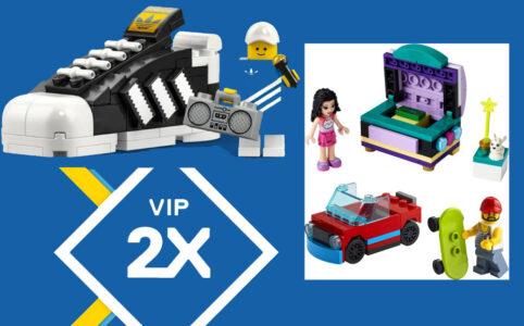 LEGO Online Shop: Doppelte VIP-Punkte und zwei Gratis-Beigaben