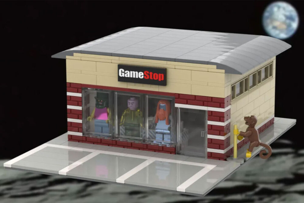 LEGO Ideas Gamestop Classic Shop