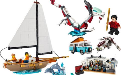 LEGO Gratis-Beigaben und Neuheiten im August