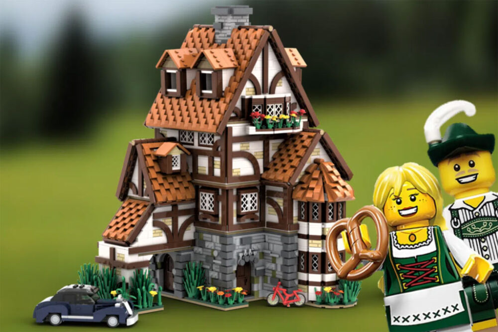 LEGO Ideas Traditional German Cottage