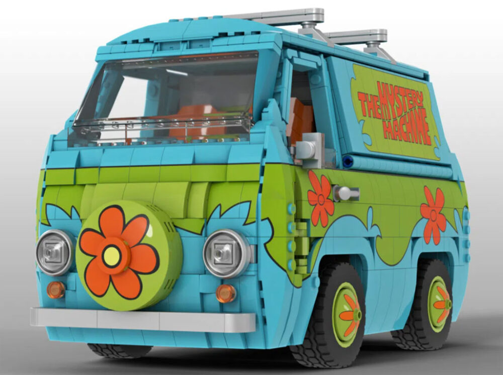LEGO Ideas Scooby Doo Mystery Machine