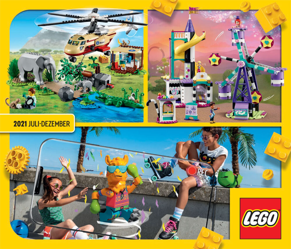 LEGO Katalog zweites Halbjahr 2021 Juli bis Dezember