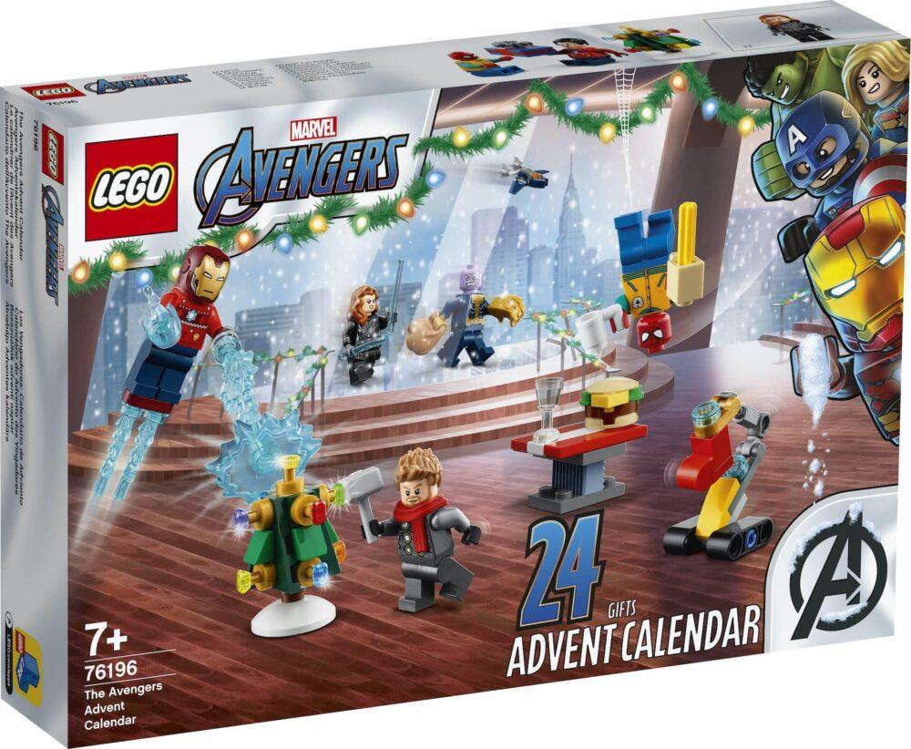 LEGO Marvel 76196 Adventskalender Box