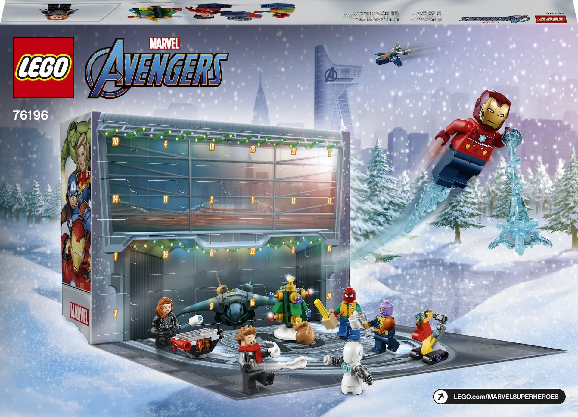 LEGO Marvel 76196 Adventskalender