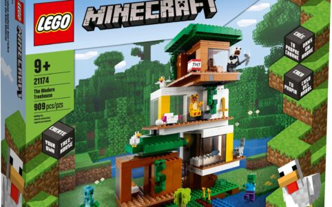 LEGO Minecraft 21174 Das moderne Baumhaus