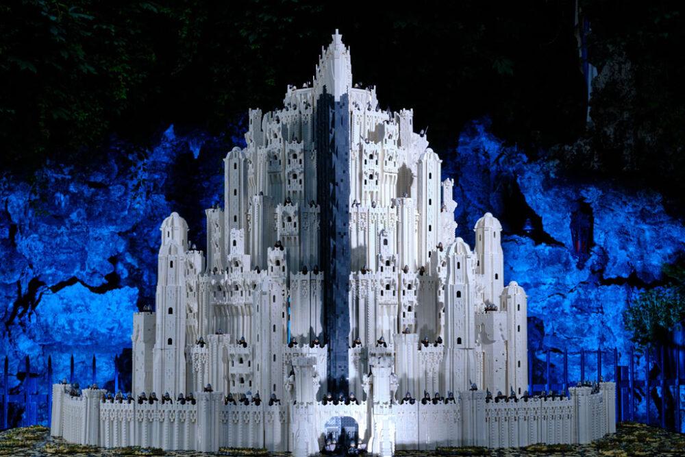 LEGO MOC Minas Tirith