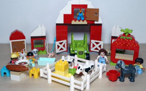 LEGO Duplo 10952 Scheune, Traktor und Tierpflege