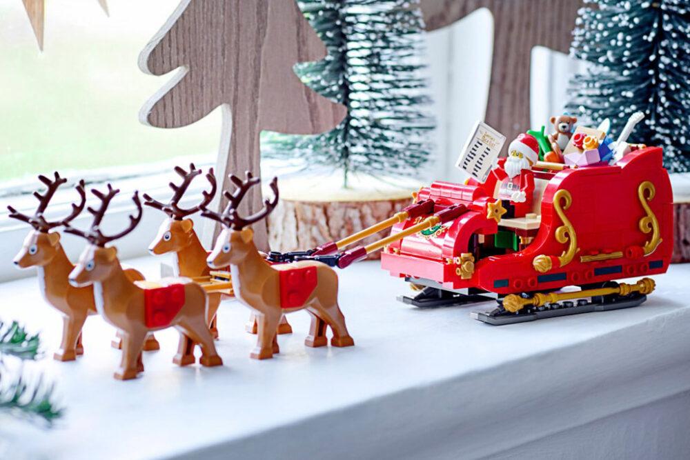 LEGO Seasonal 40499 Weihnachtsmann-Schlitten