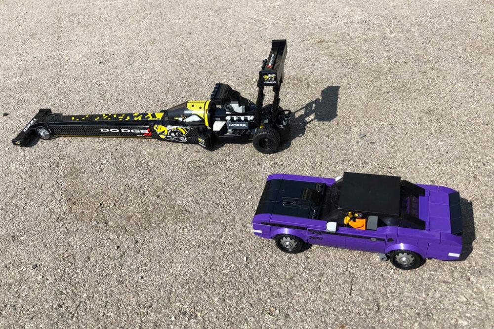 LEGO Speed Champions 76904 Mopar Dodge // SRT Dragster und 1970 Dodge Challenger