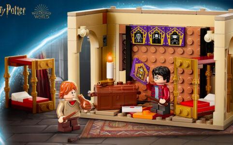Harry Potter 40452 Hogwarts Gryffindor Schlafsäle