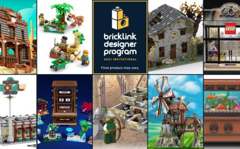 LEGO BrickLink Designer Program: Runde 2