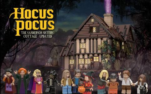 LEGO Ideas Hocus Pocus - the Sanderson Sisters' Cottage - Updated